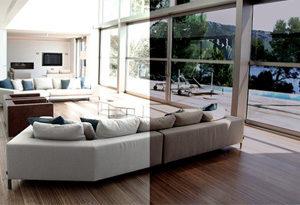 okenní fólie (na okna) - konfigurátor rodinné domy a byty