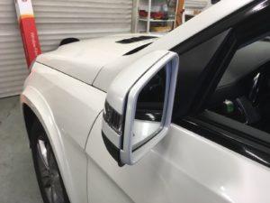 Polepy na auto realizace - Mercedes SUV Celopolep