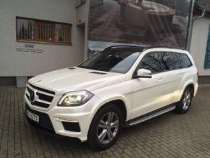 Polepy na auto realizace - Mercedes SUV