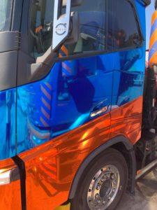 Polep kamion
