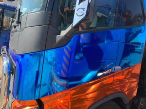 Polep nákladní vozy - carwrapping