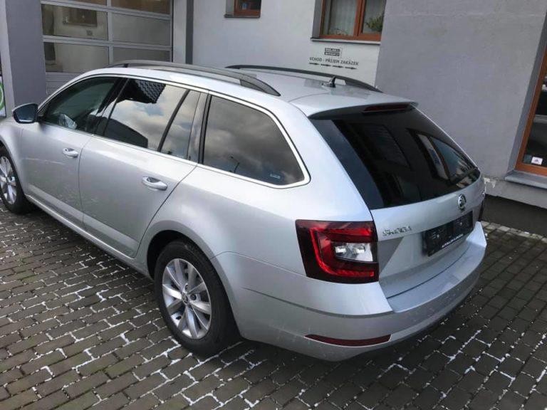 Tónování autoskel Škoda Octavia combi