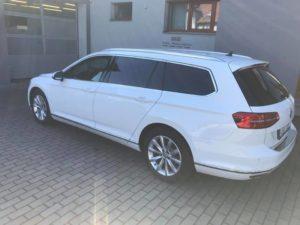 Ztmavení zadních skel VW Passat