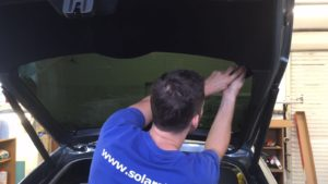 Tónování autoskel Praha - KIA Sportage Solarstop